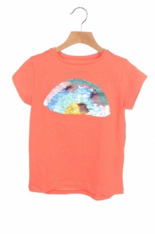 Παιδικό μπλουζάκι ZY kids, Μέγεθος 5-6y/ 116-122 εκ., Χρώμα Πορτοκαλί, 95% βαμβάκι, 5% ελαστάνη, Τιμή 7,37€
