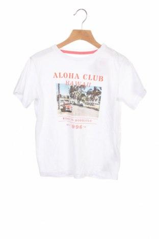 Детска тениска ZY kids, Размер 5-6y/ 116-122 см, Цвят Бял, Памук, Цена 19,50лв.