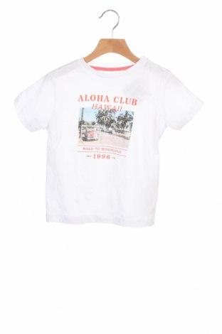 Детска тениска ZY kids, Размер 2-3y/ 98-104 см, Цвят Бял, Памук, Цена 9,88лв.