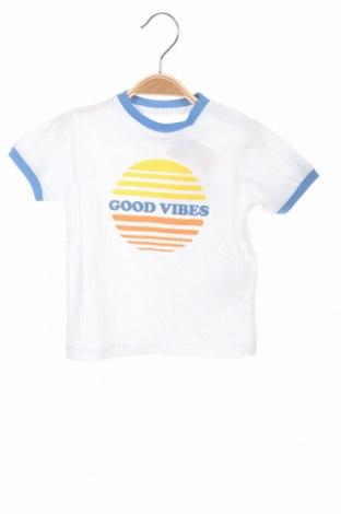 Dětské tričko  ZY kids, Velikost 9-12m/ 74-80 cm, Barva Bílá, Bavlna, Cena  207,00Kč