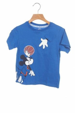 Детска тениска ZY kids, Размер 3-4y/ 104-110 см, Цвят Син, 100% памук, Цена 19,50лв.