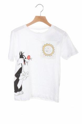 Παιδικό μπλουζάκι ZY kids, Μέγεθος 7-8y/ 128-134 εκ., Χρώμα Λευκό, Βαμβάκι, Τιμή 7,37€