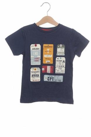 Dětské tričko  ZY kids, Velikost 4-5y/ 110-116 cm, Barva Modrá, Bavlna, Cena  261,00Kč