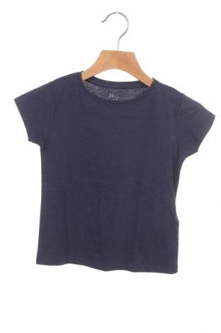 Детска тениска ZY kids, Размер 2-3y/ 98-104 см, Цвят Син, Памук, Цена 19,50лв.