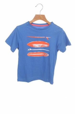 Детска тениска ZY kids, Размер 4-5y/ 110-116 см, Цвят Син, Памук, Цена 10,40лв.