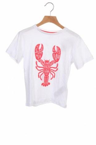 Детска тениска ZY kids, Размер 4-5y/ 110-116 см, Цвят Бял, Памук, Цена 19,50лв.