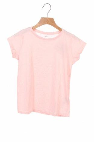 Детска тениска ZY kids, Размер 6-7y/ 122-128 см, Цвят Розов, Памук, Цена 19,50лв.
