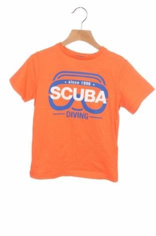 Детска тениска ZY kids, Размер 4-5y/ 110-116 см, Цвят Оранжев, Памук, Цена 10,40лв.