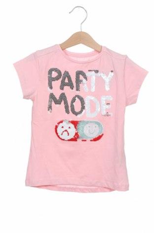 Παιδικό μπλουζάκι ZY kids, Μέγεθος 3-4y/ 104-110 εκ., Χρώμα Ρόζ , 95% βαμβάκι, 5% ελαστάνη, Τιμή 7,37€