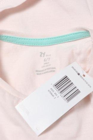 Παιδικό μπλουζάκι ZY kids, Μέγεθος 5-6y/ 116-122 εκ., Χρώμα Ρόζ , Βαμβάκι, Τιμή 10,05€