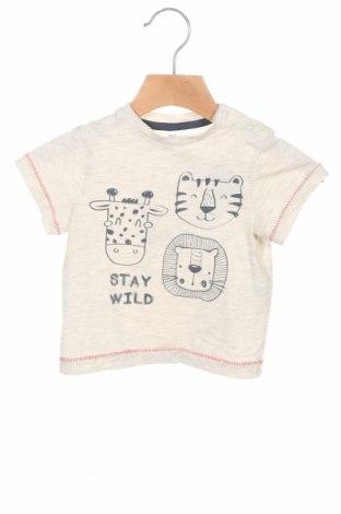 Παιδικό μπλουζάκι ZY kids, Μέγεθος 6-9m/ 68-74 εκ., Χρώμα Γκρί, 95% βαμβάκι, 5% βισκόζη, Τιμή 7,37€