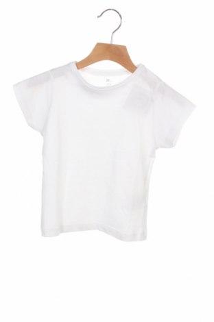 Детска тениска ZY kids, Размер 2-3y/ 98-104 см, Цвят Бял, Памук, Цена 18,00лв.