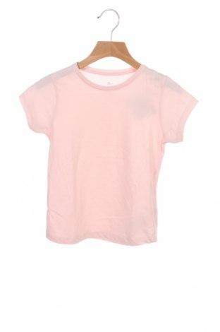 Детска тениска ZY kids, Размер 5-6y/ 116-122 см, Цвят Розов, Памук, Цена 9,60лв.
