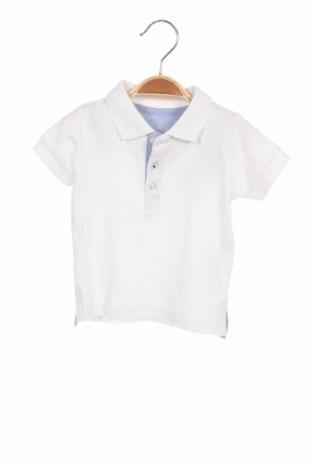 Детска тениска ZY kids, Размер 6-9m/ 68-74 см, Цвят Бял, Памук, Цена 9,88лв.