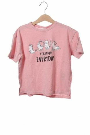 Παιδικό μπλουζάκι Zara, Μέγεθος 4-5y/ 110-116 εκ., Χρώμα Ρόζ , Βαμβάκι, Τιμή 5,23€