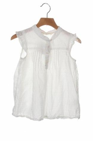 Dziecięca tunika H&M, Rozmiar 6-7y/ 122-128 cm, Kolor Biały, Bawełna, Cena 46,20zł