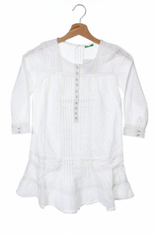 Dětská tunika  United Colors Of Benetton, Velikost 9-10y/ 140-146 cm, Barva Bílá, Cena  176,00Kč