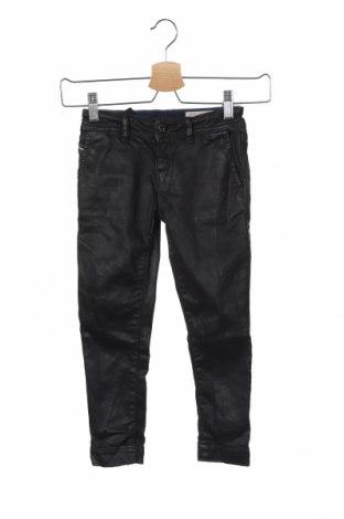 Детски дънки Diesel, Размер 5-6y/ 116-122 см, Цвят Черен, 98% памук, 2% еластан, Цена 30,75лв.