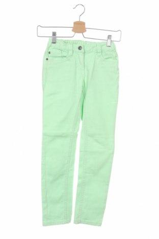 Детски дънки S.Oliver, Размер 9-10y/ 140-146 см, Цвят Зелен, 98% памук, 2% еластан, Цена 18,00лв.