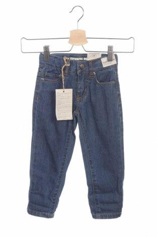 Παιδικά τζίν ZY kids, Μέγεθος 12-18m/ 80-86 εκ., Χρώμα Μπλέ, 100% βαμβάκι, Τιμή 16,88€