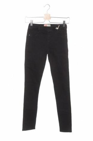Dziecięce jeansy ZY kids, Rozmiar 13-14y/ 164-168 cm, Kolor Czarny, 74% bawełna, 25% poliester, 1% elastyna, Cena 40,43zł