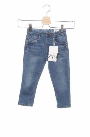 Παιδικά τζίν Zara, Μέγεθος 2-3y/ 98-104 εκ., Χρώμα Μπλέ, 68% βαμβάκι, 26% πολυεστέρας, 4% βισκόζη, 2% ελαστάνη, Τιμή 17,78€