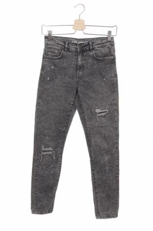 Παιδικά τζίν Zara, Μέγεθος 13-14y/ 164-168 εκ., Χρώμα Γκρί, 98% βαμβάκι, 2% ελαστάνη, Τιμή 13,92€