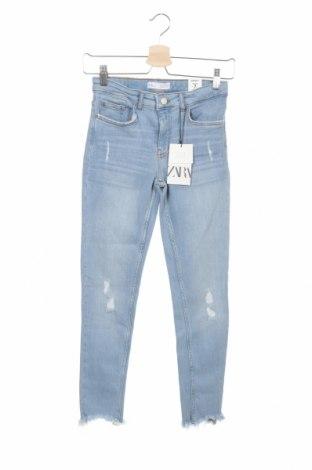 Παιδικά τζίν Zara, Μέγεθος 6-7y/ 122-128 εκ., Χρώμα Μπλέ, Τιμή 17,78€