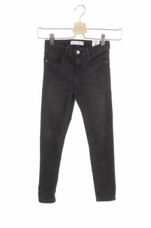 Παιδικά τζίν Zara, Μέγεθος 7-8y/ 128-134 εκ., Χρώμα Γκρί, 70% βαμβάκι, 28% πολυεστέρας, 2% ελαστάνη, Τιμή 14,94€