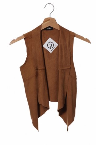 Dětská vesta  Page One, Velikost 8-9y/ 134-140 cm, Barva Hnědá, 92% polyester, 8% elastan, Cena  367,00Kč