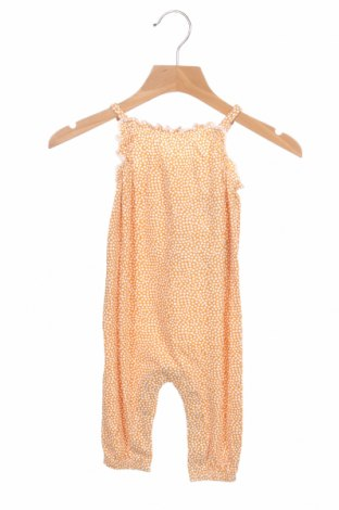 Детски гащеризон ZY kids, Размер 1-2m/ 50-56 см, Цвят Оранжев, 100% памук, Цена 17,15лв.