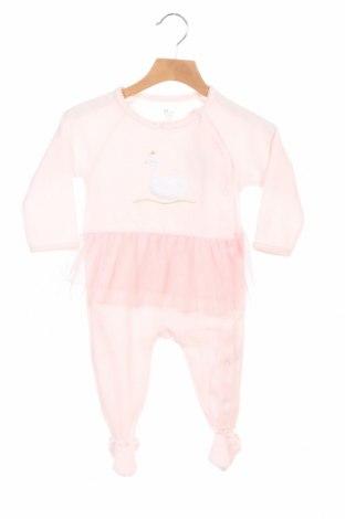 Παιδική σαλοπέτα ZY kids, Μέγεθος 6-9m/ 68-74 εκ., Χρώμα Ρόζ , 76% βαμβάκι, 24% πολυεστέρας, Τιμή 8,44€