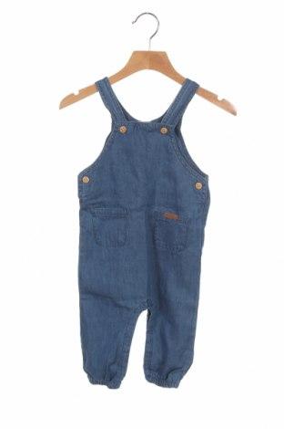 Dětská kombinéza  ZY kids, Velikost 6-9m/ 68-74 cm, Barva Modrá, 100% bavlna, Cena  420,00Kč