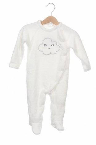 Παιδική σαλοπέτα ZY kids, Μέγεθος 6-9m/ 68-74 εκ., Χρώμα Λευκό, Πολυεστέρας, Τιμή 8,44€