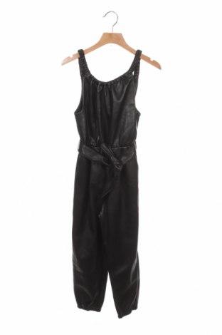 Παιδική σαλοπέτα Zara, Μέγεθος 7-8y/ 128-134 εκ., Χρώμα Μαύρο, Δερματίνη, Τιμή 15,91€
