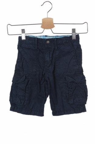 Детски къс панталон H&M, Размер 3-4y/ 104-110 см, Цвят Син, Памук, Цена 16,50лв.