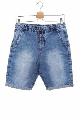 Παιδικό κοντό παντελόνι Reserved, Μέγεθος 13-14y/ 164-168 εκ., Χρώμα Μπλέ, Βαμβάκι, Τιμή 12,06€