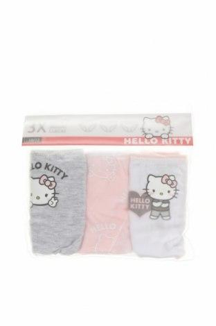 Детски комплект Hello Kitty, Размер 11-12y/ 152-158 см, Цвят Многоцветен, 100% памук, Цена 18,27лв.