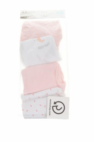 Детски комплект ZY kids, Размер 1-2m/ 50-56 см, Цвят Розов, 100% памук, Цена 18,27лв.