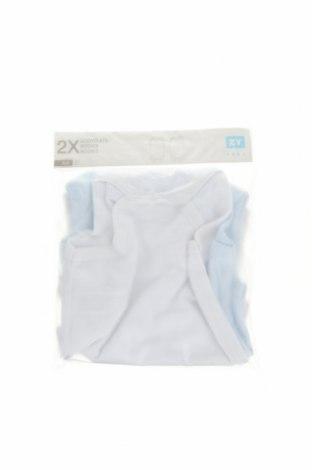 Детски комплект ZY kids, Размер 6-9m/ 68-74 см, Цвят Бял, 100% памук, Цена 16,38лв.