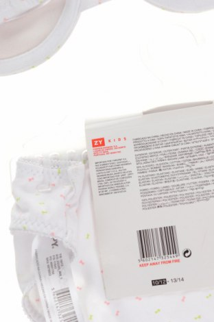 Παιδικό σύνολο ZY kids, Μέγεθος 11-12y/ 152-158 εκ., Χρώμα Λευκό, 93% βαμβάκι, 7% ελαστάνη, Τιμή 13,15€