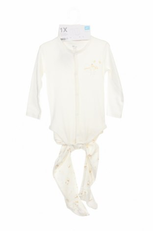 Детски комплект ZY kids, Размер 6-9m/ 68-74 см, Цвят Бял, Памук, Цена 30,87лв.