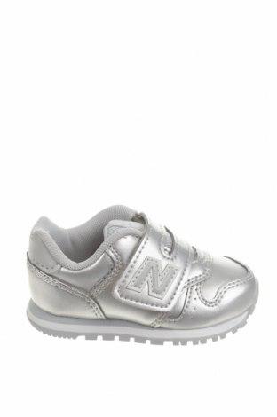 Dětské boty  New Balance, Velikost 20, Barva Šedá, Eko kůže, Cena  610,00Kč