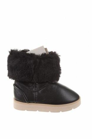 Детски обувки Zara, Размер 27, Цвят Черен, Еко кожа, Цена 59,25лв.