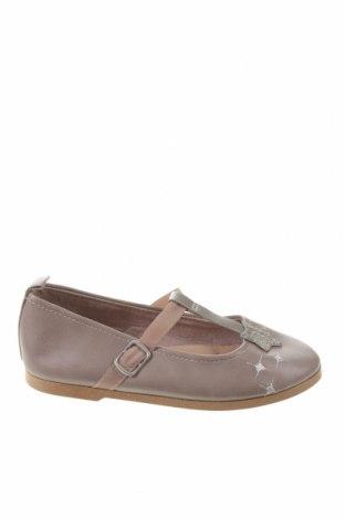 Детски обувки Zara, Размер 24, Цвят Сив, Еко кожа, Цена 44,25лв.