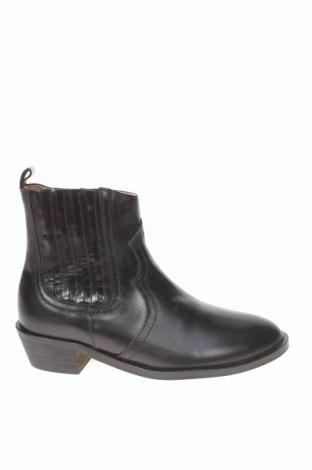 Детски обувки Zara, Размер 30, Цвят Черен, Естествена кожа, Цена 20,16лв.