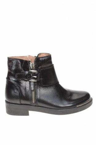 Παιδικά παπούτσια Zara, Μέγεθος 29, Χρώμα Μαύρο, Γνήσιο δέρμα, Τιμή 16,06€