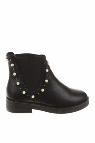 Încălțăminte pentru copii Zara, Mărime 28, Culoare Negru, Piele ecologică, Preț 56,74 Lei