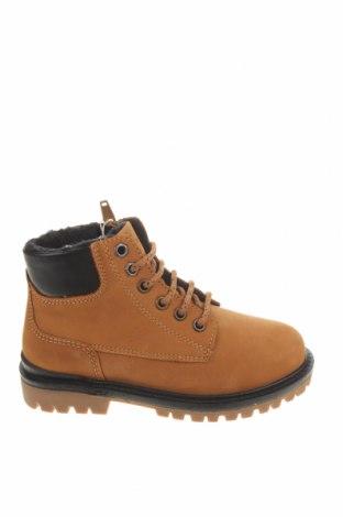 Детски обувки Zara, Размер 28, Цвят Бежов, Естествена кожа, Цена 66,75лв.