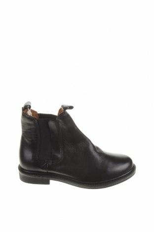 Детски обувки Zara, Размер 29, Цвят Черен, Естествена кожа, Цена 22,25лв.